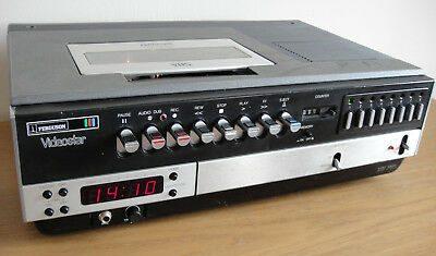 Ferguson-Videostar-3V00-VHS-Video-Recorder-Piano-Key
